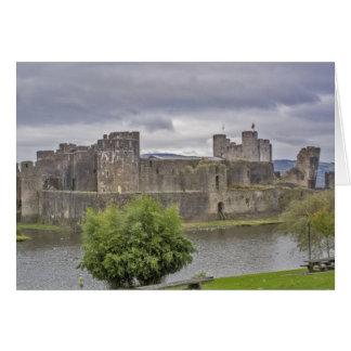 Cartão Castelo de Caerphilly