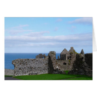 Cartão Castelo de Dunluce