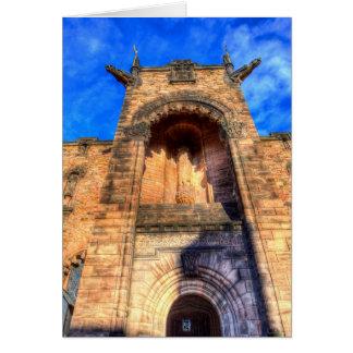 Cartão Castelo de Edimburgo