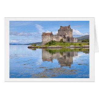 Cartão Castelo de Eilean Donan