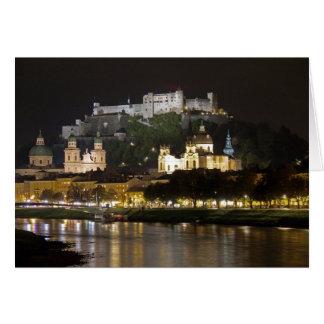 Cartão Castelo de Hohensalzburg, Salzburg