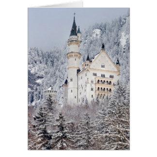 Cartão Castelo de Neuschwanstein