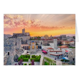 Cartão Castelo de Rabati