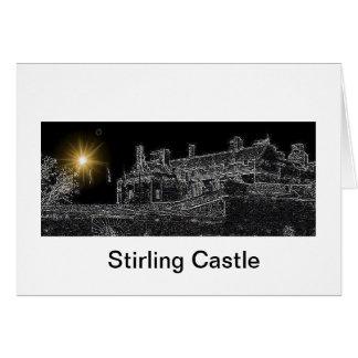 Cartão Castelo de Stirling