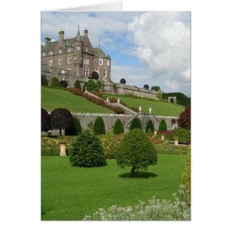 Cartão Castelo e jardins de Drummond