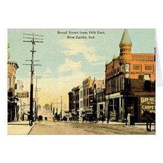 Cartão Castelo novo, rua larga de Indiana no 14a