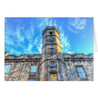 Cartão Castelo Scotland de Edimburgo
