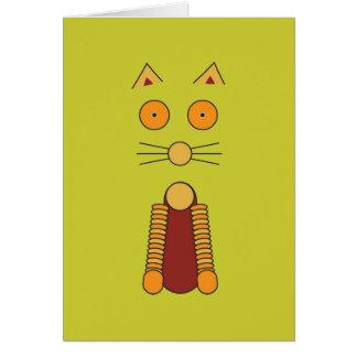 Cartão CAT alaranjado