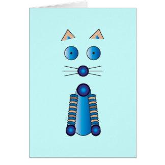 Cartão CAT azul