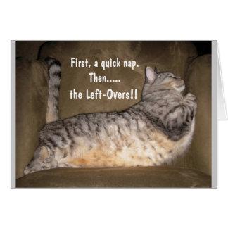 Cartão CAT do FAT, tomando uma sesta