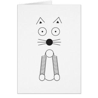 Cartão CAT liso