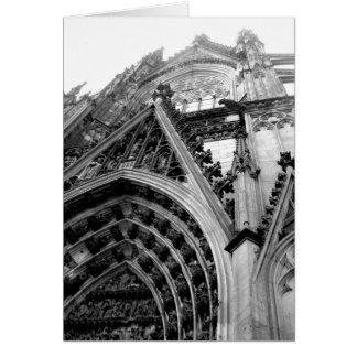 Cartão Catedral da água de Colônia