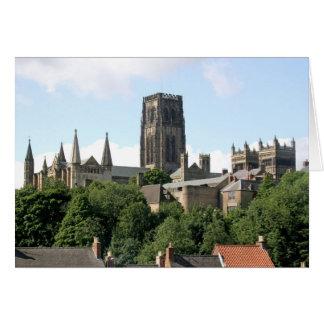 Cartão Catedral de Durham