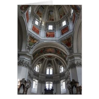 Cartão Catedral de Salzburg