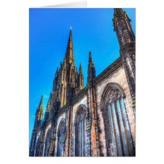 Cartão Catedral de St Giles Edimburgo
