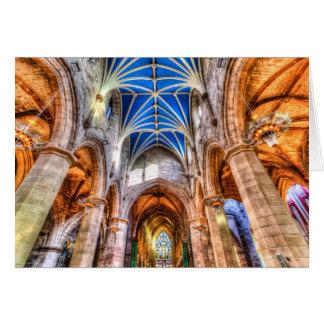 Cartão Catedral Edimburgo de St Giles