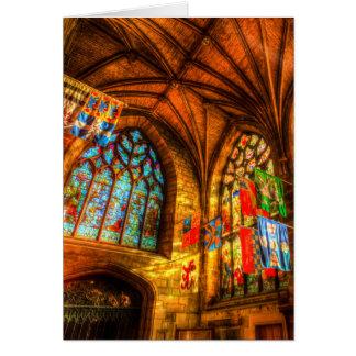 Cartão Catedral Edimburgo Scotland de St Giles
