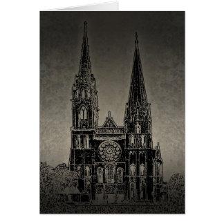 Cartão Catedral velha