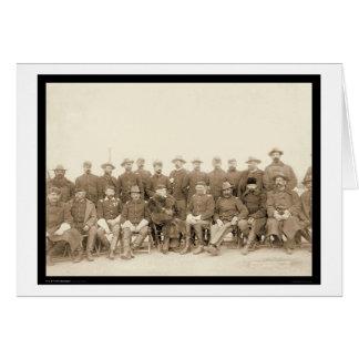 Cartão Cavalaria da luta a 7a comanda SD 1891
