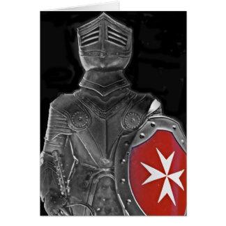 Cartão Cavaleiro de St John, Malta (1)