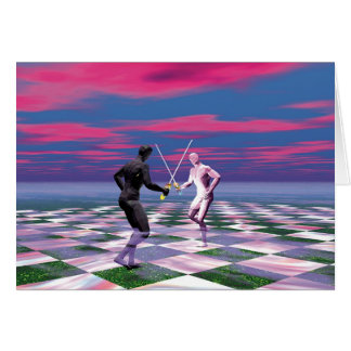 Cartão Cavaleiros das espadas