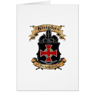 Cartão Cavaleiros Templar