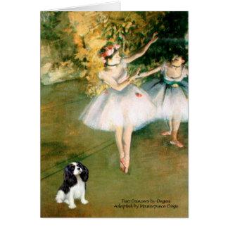 Cartão Cavalier (Tri5) - dois dançarinos