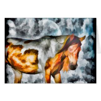 Cartão Cavalo da fantasia