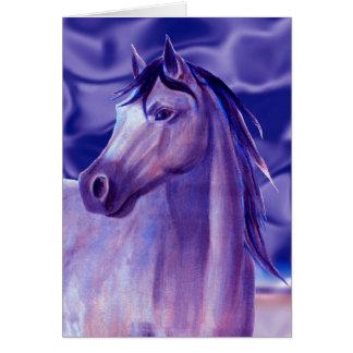 Cartão Cavalo do Aqua