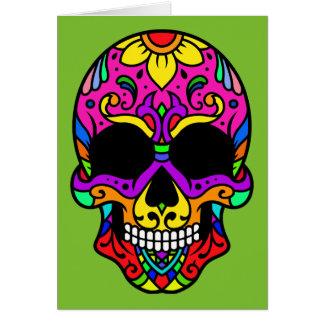 Cartão Caveira Skull