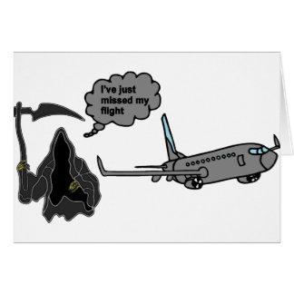 Cartão Ceifador engraçado