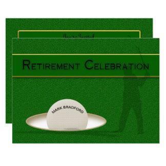Cartão Celebração da aposentadoria para o jogador de