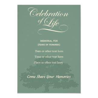 Cartão Celebração memorável do invitatation do sábio do