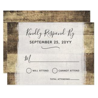 Cartão Celeiro de madeira rústico da fazenda do país do