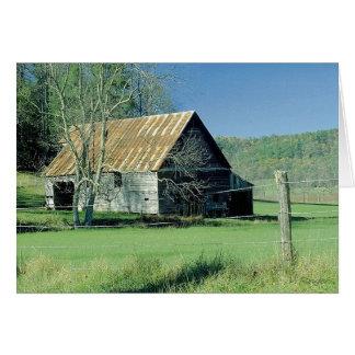 Cartão Celeiro de Tennessee
