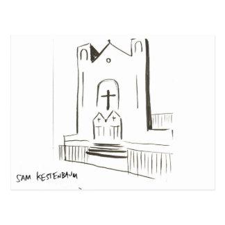 Cartão celestial da igreja de Kestenbaum