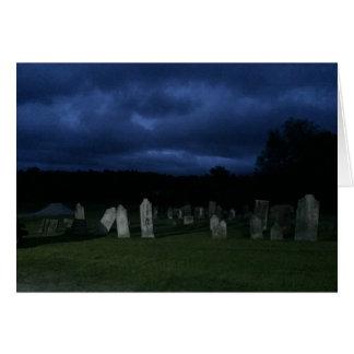 Cartão Cemitério