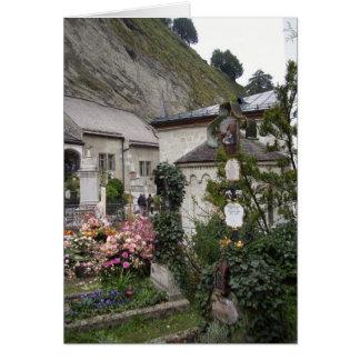 Cartão Cemitério Salzburg Áustria