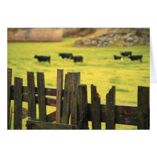 Cartão Cena da fazenda