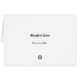 Cartão Cena de Beaufort