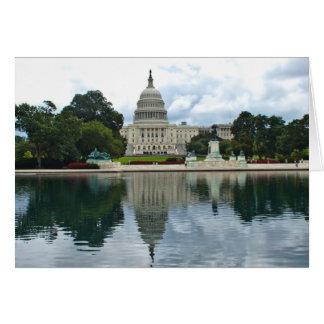 Cartão Cenas do Washington DC