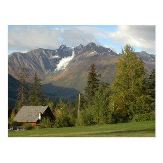 Cartão cénico de Alaska
