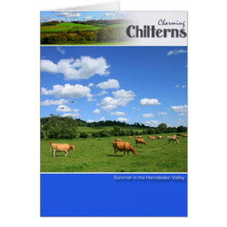 Cartão cénico de Chilterns