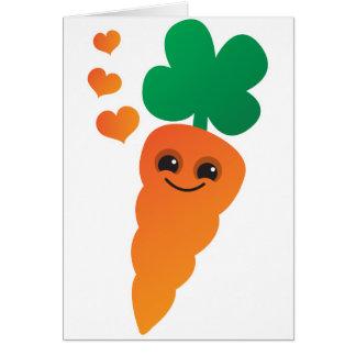 Cartão Cenoura