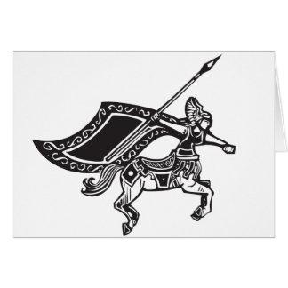 Cartão Centauro fêmea