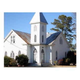 Cartão Center da igreja metodista unida do monte