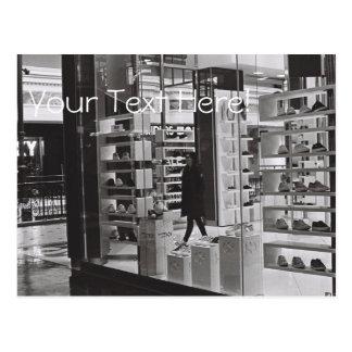 Cartão Center da loja de calçados do centro