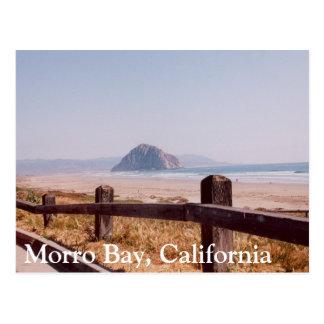 Cartão central de Califórnia da rocha de Morro da