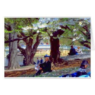 Cartão Central Park Manet