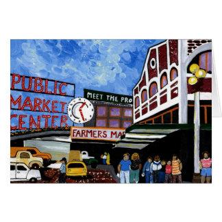 Cartão Centro do mercado público